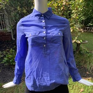 J.crew button down top, NWT